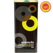 Anoskeli (Аноскели) оливковое масло Экстра Вирджин P.D.O. ''Колимвари'' с острова Крит 5л жесть