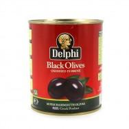 Delphi (Дельфи) маслины SUPER MAMOUTH 91/100 в рассоле 820г жесть