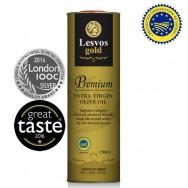 Lesvos gold P.G.I. оливковое масло Extra Virgin PREMIUM 0,2% с o.Лесбос 500мл жесть
