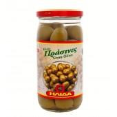 Ilida зеленые оливки в рассоле 350г стекло