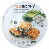 IONIKI пирог греческий с дикой зеленью, сыром «Фета» и оливковым маслом 850г