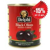 Delphi маслины SUPER MAMMOUTH 91/100 в рассоле 820г жесть