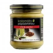 Kalamata Papadimitriou горчица с оливковым маслом и бальзамическим уксусом 200г стекло