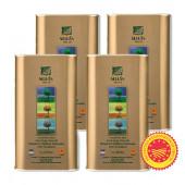 Sellas оливковое масло Extra Virgin 0,3% P.D.O. Kalamata c п/o Пелопоннес 4штх1л жесть (1шт=824р)