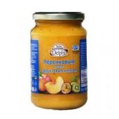 Delphi персиковый десерт с фруктовым миксом 360г стекло