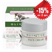 OlivAloe Увлажняющий крем от морщин для сухой и нормальной кожи лица 40мл