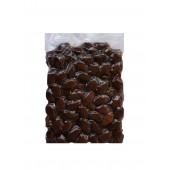 """Attica Food запеченные черные гигантские оливки """"Damaskino"""" в оливковом масле Extra Virgin 500г вакуум"""