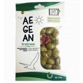 Just Greece зеленые оливки ''Эгейские'' 250г вакуум