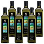 Sellas оливковое масло Extra Virgin 0,3% с п/о Пелопоннес 6штх1л стекло (1шт=762р)