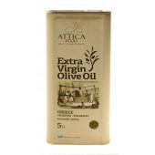 Attiсa Food оливковое масло Extra Virgin 0,3% c п/o Пелопоннес 5л жесть (1л=678р)