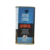 Terra Creta Estate оливковое масло Extra Virgin с о.Крит 250мл жесть