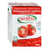 Perfetto special томаты резаные очищенные в собственном соку 370г тетрапак
