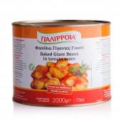 Palirria печеная гигантская фасоль в томатном соусе 2000г жесть