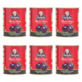 Delphi маслины SUPER MAMMOUTH 91/100 в рассоле 6штх820г жесть (1шт=297р)