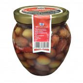 """Delphi маринованные зеленые оливки и маслины """"Kalamata"""" 1000г стекло"""