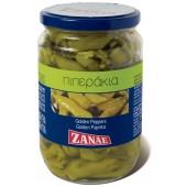 Zanae перец зеленый острый 330г стекло