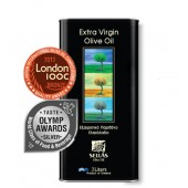 Sellas оливковое масло Extra Virgin 0,3% c п/o Пелопоннес 3л жесть (1л=700р)