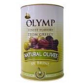 Olymp зеленые оливки размер 71/90 в рассоле 4400г жесть