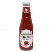 Kyknos томатный кетчуп острый 330г стекло