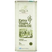 Attiсa Food оливковое масло Extra Virgin c п/o Пелопоннес 5л жесть