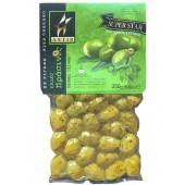 Astir зеленые оливки 250г вакуум
