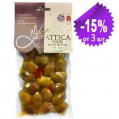 "Attica Food гигантские оливки ""Damaskino"" 250г вакуум"