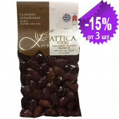 "Attica Food оливки ""Kalamon"" PREMIUM в оливковом масле Extra Virgin 0,3% 250г вакуум"