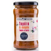 Simply Greek cоус из томатов и чеснока 280г стекло