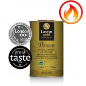 Lesvos gold P.G.I. оливковое масло Extra Virgin PREMIUM 0,2% с о.Лесбос 250мл жесть