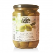 Delphi зеленые оливки в рассоле 700г стекло