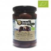 """Delphi маслины """"Kalamata"""" Organic (Bio) в рассоле с п/o Пелопоннес 290г стекло"""