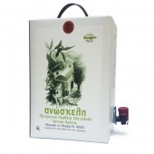 Anoskeli оливковое масло Extra Virgin с о.Крит 5л тетрапак