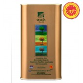 Подарок при покупке на сумму более 17000 рублей. Sellas оливковое масло Extra Virgin Kalamata P.D.O. c п/o Пелопоннес 1л жесть