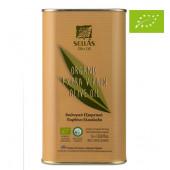 Подарок при покупке на сумму более 17000 рублей. Sellas оливковое масло Extra Virgin 0,3% Organic (Bio) c п/o Пелопоннес 1л жесть