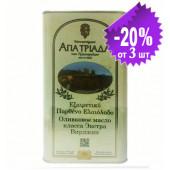 Agia Triada Монастырское оливковое масло Extra Virgin с о.Крит 3л жесть