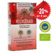 Mylopotamos оливковое масло Extra Virgin Organic (Bio) P.D.O. с о.Крит 500мл жесть