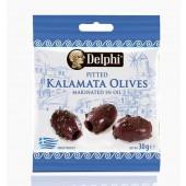 """Delphi маринованные маслины """"Каламата"""" б/к в оливковом масле 30г вакуум"""