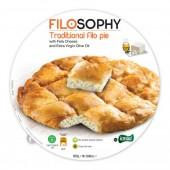 IONIKI пирог традиционный «Филло» с сыром «Фета» и оливковым маслом 850г