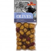 "Ilida микс оливок и маслин ""Kalamata"" с орегано 250г вакуум"