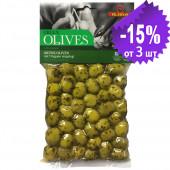 Ilida зеленые оливки с орегано 250г вакуум