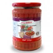 Соус из красных жареных перцев и баклажанов PALIRRIA 550г стекло