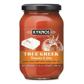 Kyknos соус из томатов и феты 350г стекло