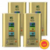 Sellas оливковое масло Extra Virgin 0,3% P.D.O. Kalamata c п/o Пелопоннес 4штх1л жесть (1шт=848р)