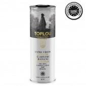 Масло оливковое Extra Virgin Olive Oil Монастырское TOPLOU P.D.O. SITIA 1л жесть