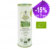 Agia Triada Монастырское оливковое масло Extra Virgin Organic (Bio) с о.Крит 500мл жесть