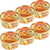 Zanae печеная гигантская фасоль в томатном соусе 6штх280г жесть (1шт=204р)
