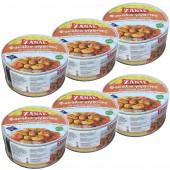 Zanae печеная гигантская фасоль в томатном соусе 6штх280г жесть (1шт=236р)