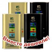 НАБОР 2шт Sellas оливковое масло Extra Virgin 0,3% c п/o Пелопоннес 1л жесть + 2шт Sellas оливковое масло Extra Virgin 0,3% P.D.O. Kalamata c п/o Пелопоннес 1л жесть (1шт=872р)