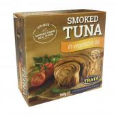 ТРАТА консервы рыбные Тунец копченый в растительном масле 160г