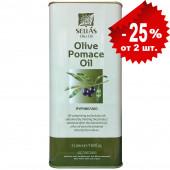 Sellas оливковое масло Pomace c п/o Пелопоннес 5л жесть